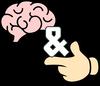 Das Gehirn und der Finger Logo